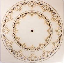 Декоративный элемент-накладка набор из 4 кругов различных диаметров №33-0084