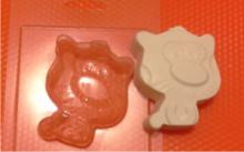 Форма для мыла Котик
