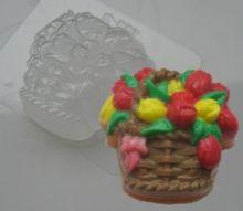 Форма для мыла Корзина тюльпанов