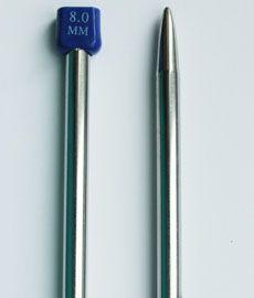 Спицы длинные металические 35 см № 8